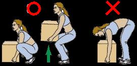 「腰痛 荷物 イラスト」の画像検索結果